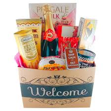 Office Gift Baskets A Welcome To The Office Or Homewarming Gift Basket All Wrapped