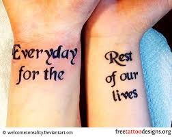 small quote wrist tattoos best home decorating ideas