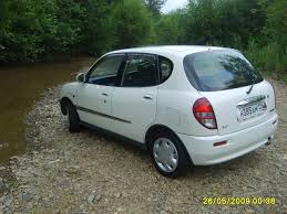 2001 daihatsu sirion 1 3 automatic related infomation