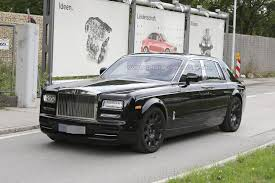 rolls royce inside next generation rolls royce phantom spied inside and out gtspirit