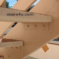 wrong stair tread bracket