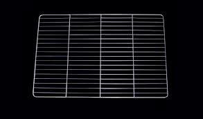 grille de cuisine grille gastronome et pâtissière inox gn 2 1 650 x 530 mm 2 traverses