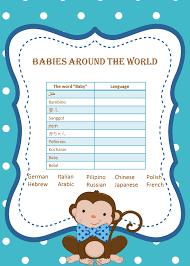 free printable monkey baby shower invitations u2013 gangcraft net