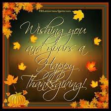 happy thanksgiving my american friends rsd caregivers and