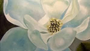 magnolia flowers magnolia blossom painting teresa bernard paintings
