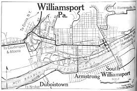 map of williamsport pa williamsport pennsylvania williamsport