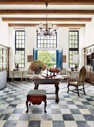 Mcalpine Booth Ferrier Interiors Marble Flooring Renovation Ideas Photos Architectural Digest