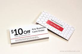 slim business cards vermillion silk sle offer