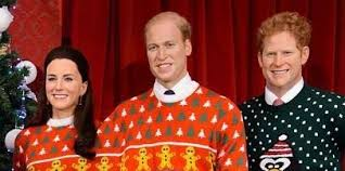 madame tussauds dresses the royal family in sweaters
