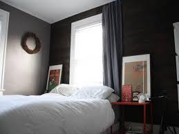Gray Walls Curtains Gray Bedroom Master Charcoal Dark Wall Paper Upholstered Modern
