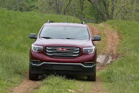 2017 gmc acadia reviews and rating motor trend