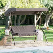 3 person futon patio swing home design ideas