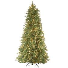slim pre lit christmas trees artificial christmas trees the