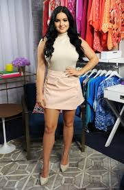ariel winter looks like a neutral colored dream in this preppy