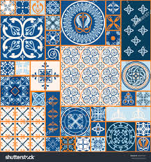 Moroccan Tile by Vector Tiles Moroccan Tiles Seamless Pattern Stock Vector