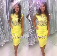 yellow dress for wedding dress yellow lilac pencil dress wedding guest