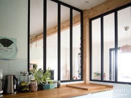 fenetre atelier cuisine diy une verrière style atelier pas chère pour séparer cuisine et salon