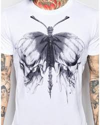 diesel t shirt t aikos butterfly skull print where to buy how