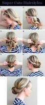 simple and easy hairstyles for medium length hair creative ideas cute easy hairstyles for medium hair unusual design