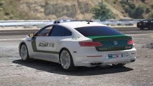 add on oiv 2018 volkswagen arteon dubai police 1 0 for gta 5