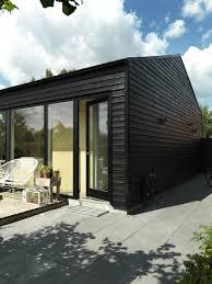 30 all black exterior modern homes dwell