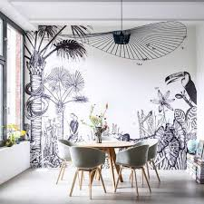 dining room murals modern dining room with wall murals choosing wall murals for