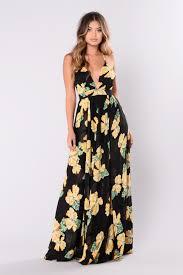 floral maxi dress floral maxi dress black