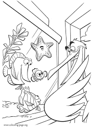 finding nemo coloring pages getcoloringpages