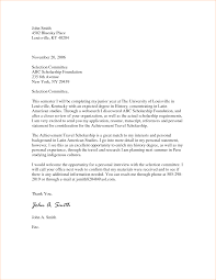 Need Cover Letter How To Make A Cover Letter For A Scholarship Application Images