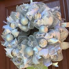 white deco mesh best deco mesh wreath products on wanelo