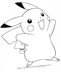 printable pictures pokemon coloring pages printable 26