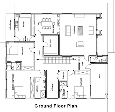 home plan ground floor plan for home home plans design