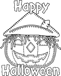 crayola halloween coloring pages