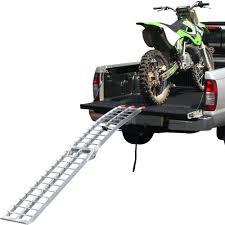motocross bike trailer amazon com black widow afl 9012 ramp folding motorcycle 1 pack