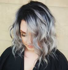 how to blend in gray roots of black hair with highlig gray hair with black roots google search hair makeup nails