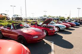 mazda worldwide mazda marks a milestone the one millionth miata tour txgarage
