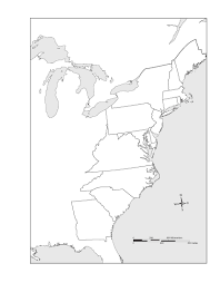 Map Of The New England Colonies by 10 Best Images Of Middle Colonies Map Printable Middle Colonies
