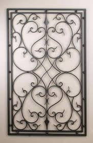 Decorative Wrought Iron Wall Hangings Wrought Iron Panel