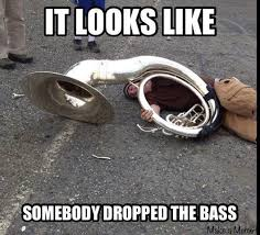 Band Geek Meme - someone dropped the bass by xbandgeekgirlx on deviantart