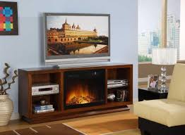 Tv Stand With Fireplace Tv Stand With Electric Fireplace For Entertainment