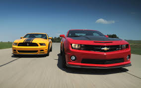 Mustang Boss 302 Black And Red 2013 Chevrolet Camaro Ss 1le Vs 2013 Ford Mustang Boss 302
