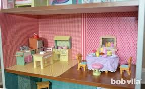 How To Make A Dollhouse Out Of A Bookcase How To Build A Dollhouse Bob Vila