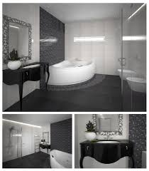 Modern Classic Bathroom Modernios Klasikos Prabangus Interjeras Apdailosnamai Black