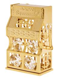 24k gold plated with austrian crystal christmas ornaments page 2