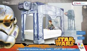 star wars bed canopy at at design fits single bed star wars star wars bed canopy at at design fits single bed star wars amazon co uk kitchen home