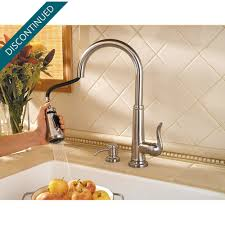stainless steel ashfield 1 handle pull down kitchen faucet f