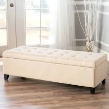 Large Storage Bench Tufted Ottoman Storage Bench Large Square Tufted Storage Ottoman
