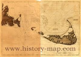 Nantucket Map Chart Of Nantucket Island