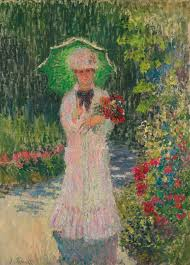 the monet family in their garden at argenteuil monet claude camille à l u0027ombrel figures sotheby u0027s