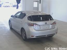 lexus ct200h used car for sale 2011 lexus ct200h gray for sale stock no 50494 japanese used
